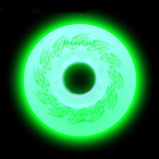 Roda Patins Led Luz Iluminada Roller Inline 80mm - 4 Rodas
