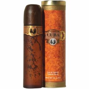 Perfume Importado Cuba Gold 100ml Lacrado Original
