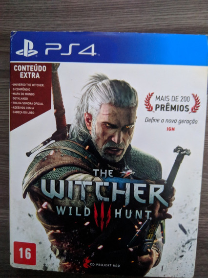 The Witcher 3 - Ps4 Midia Fisica