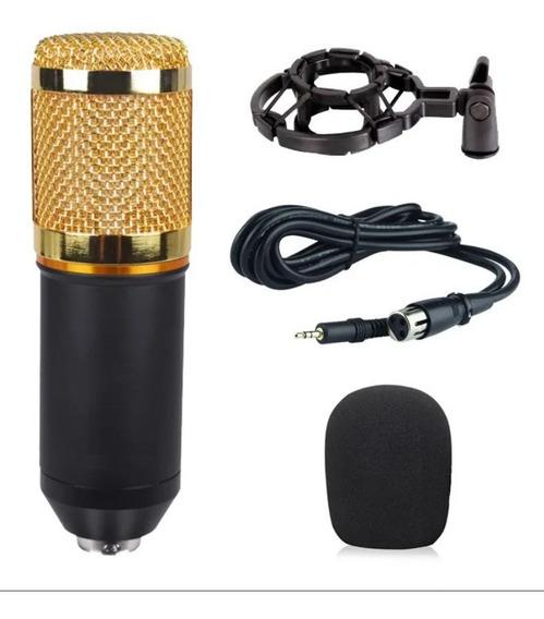 Bm-800 Microfone Condensador Profissional Studio