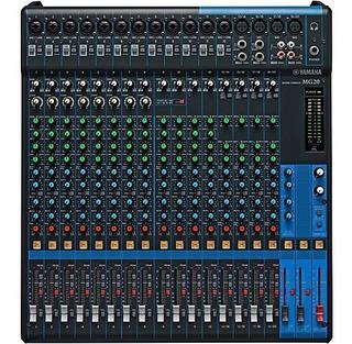 Yamaha Mg20 Consola Mixer Sonido 20 Canales Dist Oficial
