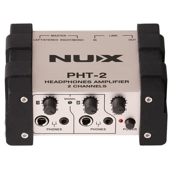 Amplificador Auricular Nux Pht-2 Amplificador Para Auricular