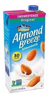 Almond Breeze Leche De Almendra Original Paquete De 12