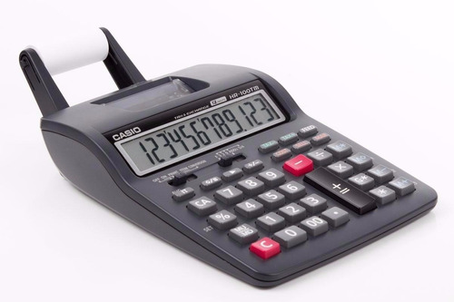 Calculadora Impresora Casio Hr-100tm +transformador Obelisco
