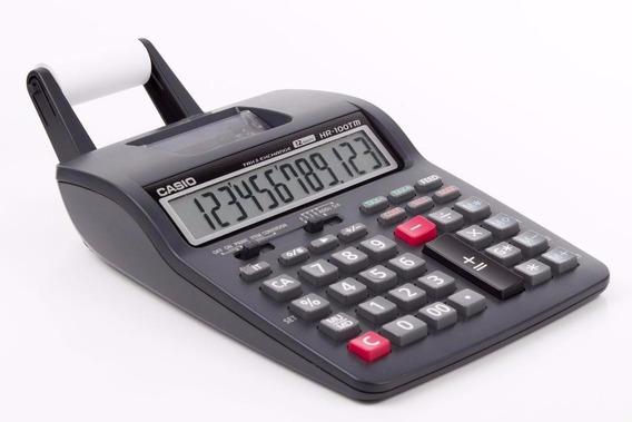 Calculadora Impresora Casio Hr-100tm +transformador Obelisco