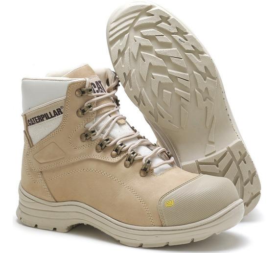 Bota De Seguranca Caterpillar Masculino Botas Sapatos Com O