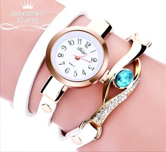 Relógio Com Pedra Vintage