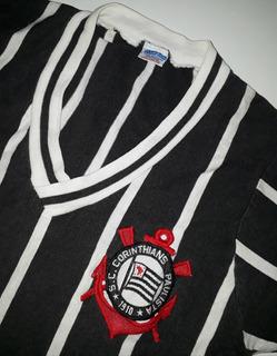 Camiseta Corinthians Relíquia Anos 1970 Marca Campeã - Jc