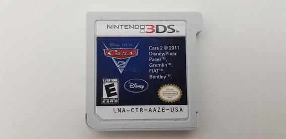 Jogo Cars 2 - Nintendo 3ds - Original - Sem Capa