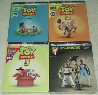 Toy Story Blu-ray 4k Steelbook Best Buy