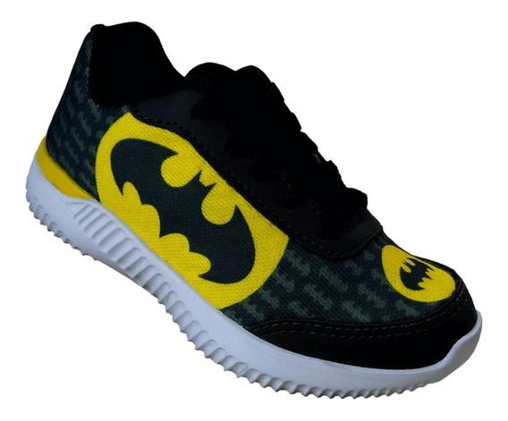 Tenis Infantil Batman Barato Batman Mp 1854
