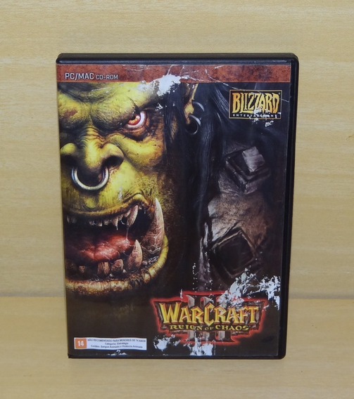 Warcraft Iii 3 - Reign Of Chaos - Pc