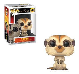 Muñeco Funko Pop Lion King Rey Leon Timon 549 Original!