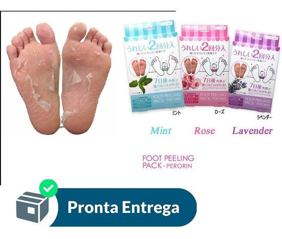 Meia Pele Dos Pés Esfoliante Foot Renova Peeling