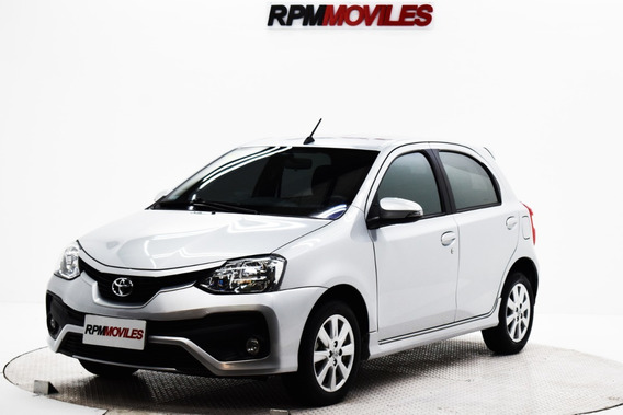 Toyota Etios 1.5 Xls At 5p 2018 Rpm Moviles