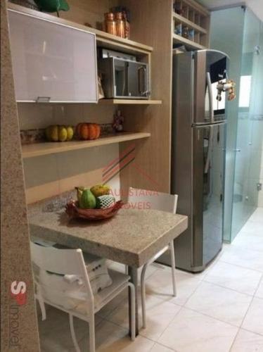 Apartamento Em Condomínio Padrão Para Venda No Bairro Vila Vermelha, 3 Dorm, 1 Suíte, 2 Vagas, 90 M². - 93