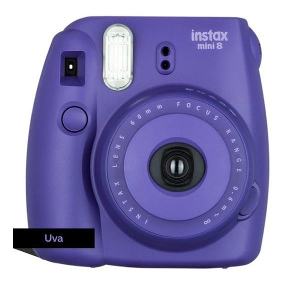 Câmera Instax Mini 8 - Roxa - Fujifilm