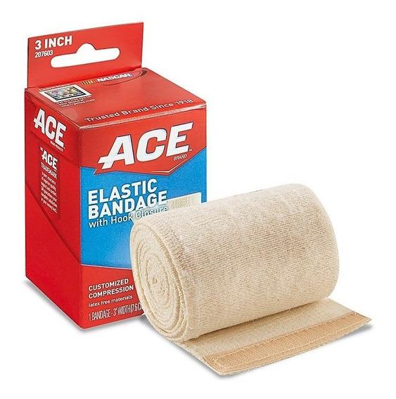 1 Venda 3m Ace Elastica Codo/tobillo/rodilla De 3 P X 5 Pies