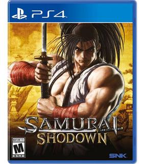 Samurai Shodown - Juego Físico Ps4 - Sniper Games
