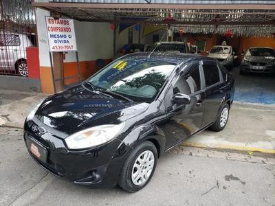 Ford Fiesta 1.6 Sedan Se Completo C/ Gnv 5° Geracao 2014