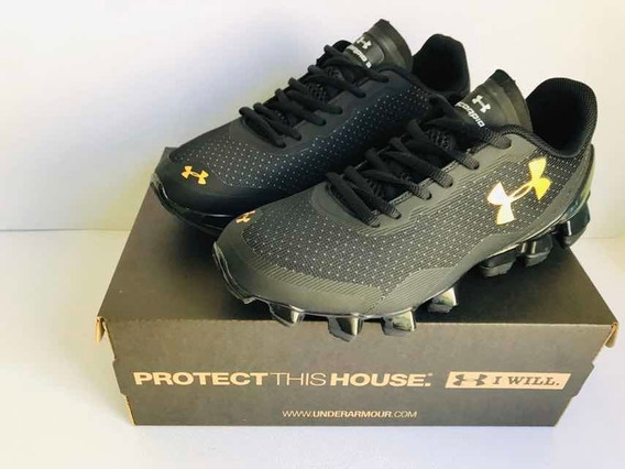 Nuevo Under Armour Scorpio 3 Black/gold!!!