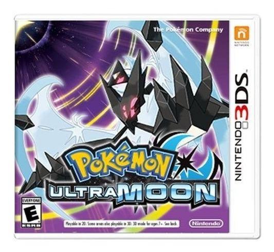 Jogo Novo Mídia Física Pokémon Ultra Moon Nintendo 3ds