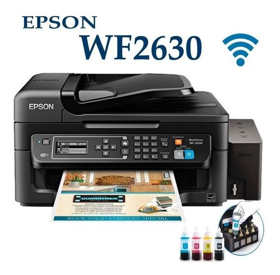 Impresora Epson Workforc 2630 $120 Y Con Sistem 150 Sin Chip