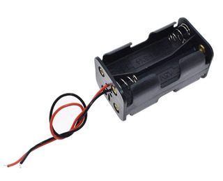 Bateria Holder 4 X Aa Porta Pila Apilado 2x2 Itytarg