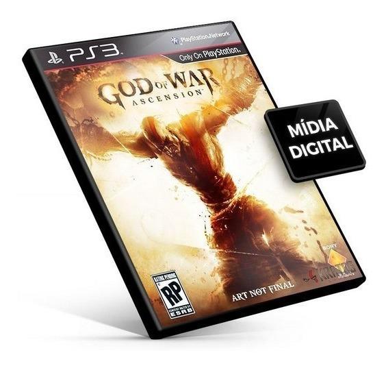 God Of War Iv Ascension Ps3 Midia Digital Envio Imediato!!
