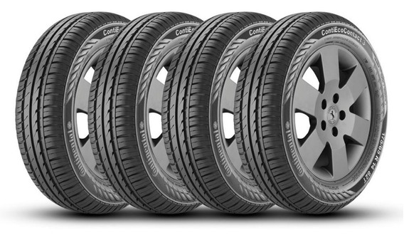 Kit 4 Pneus 175/65r14 Continental Contiecocontact 3 82t