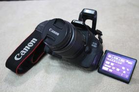 Canon T3i 600d Com Lente 18-55mm . Tenho Mais Equipamentos