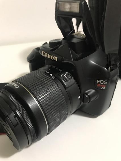 Câmera Cânon T3 Eos Rebel