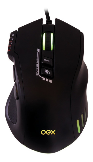 Mouse Gamer Oex Weapon Dpi 4000