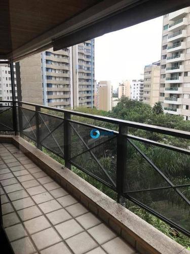 Apartamento Com 4 Dormitórios, 200 M² - Venda Por R$ 1.100.000,00 Ou Aluguel Por R$ 4.000,00/mês - Morumbi - São Paulo/sp - Ap9751