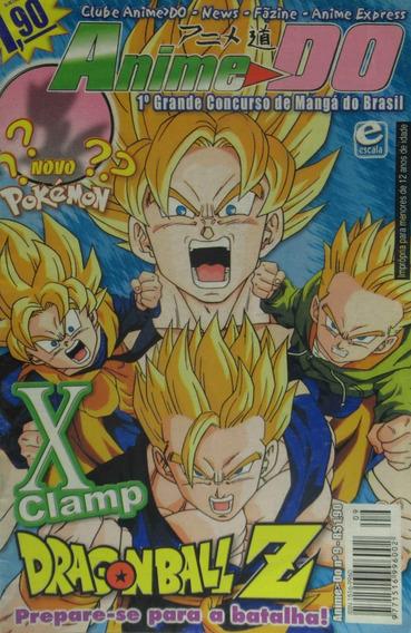 Revista Anime Do 09 Edit Escala Dragon Ball Z Pokemon Clamp