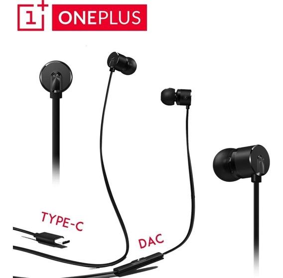 Fone In-ear Oneplus Bullets V2 2t Conector Usb P/entrega