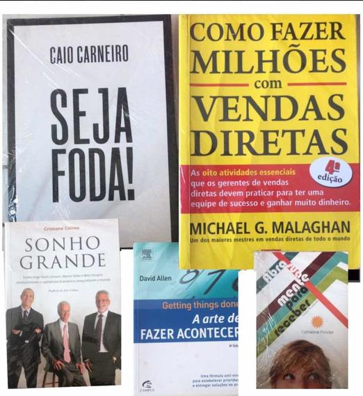 Lote De 5 Livros