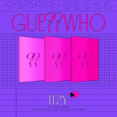 Itzy Guess Who Cd + Libro Nuevo Importado