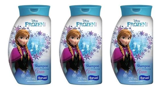 Baruel Princesa Frozen Shampoo 230ml (kit C/03)