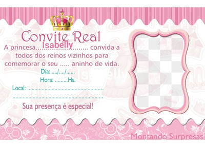 Convite Personalizado X