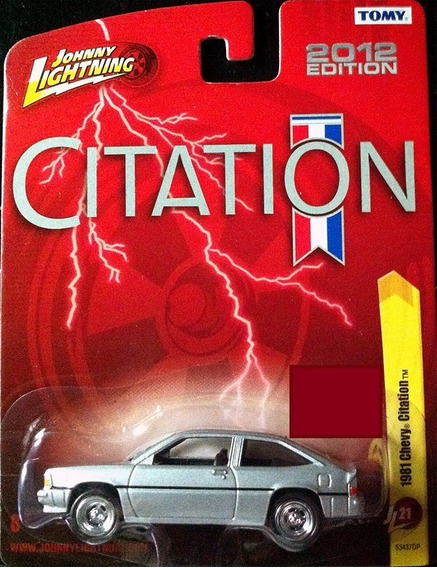 Johnny Lightning Chevy Citation 1981
