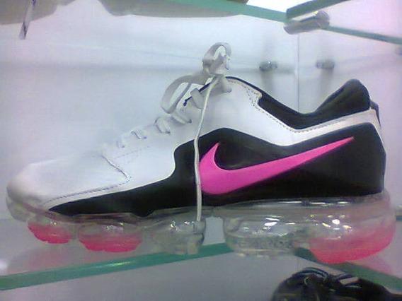 Tenis Nike Vapormax Branco/preto E Rosa Nº34 Ao 41 Original