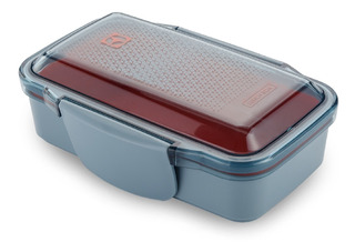 Porta Comidas X 2 Electrolux 950ml Freezer - Micro Naranja