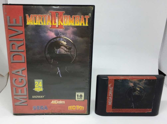 Mortal Kombat 2 - Tectoy - Mega Drive