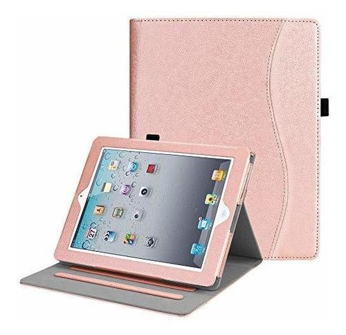 Estuche Para Tablet iPad 2 3 4 A1458 A1395 Rosado