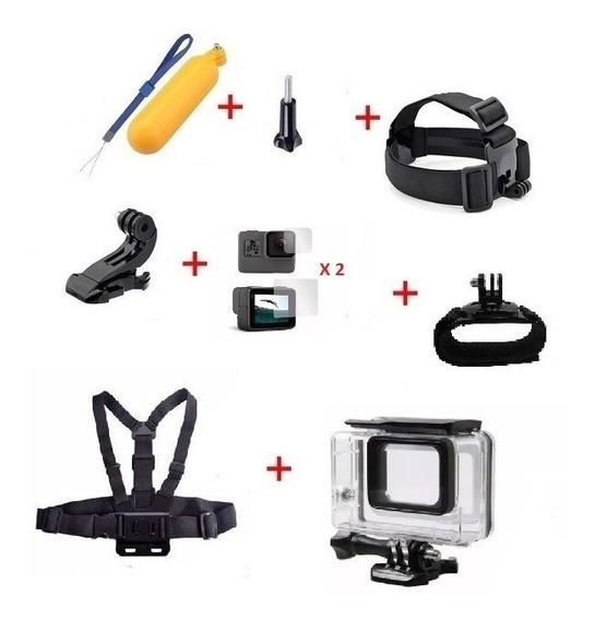 Kit Acessórios Câmera Gopro Hero 5 6 7 Black Frete Grátis