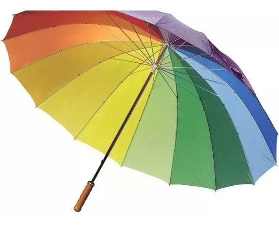 Paraguas Sombrillas Grandes 1.02 De Alto Con Detalles