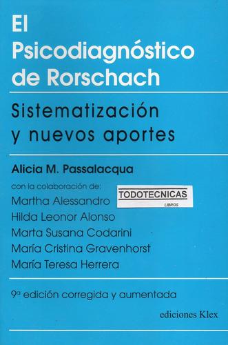 Imagen 1 de 4 de Psicodiagnostico Rorschach: Sistematiz + Interpretac