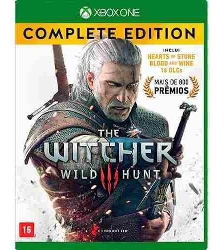 The Witcher 3 Iii Complete Edition Xbox One Midia Fisica Pt