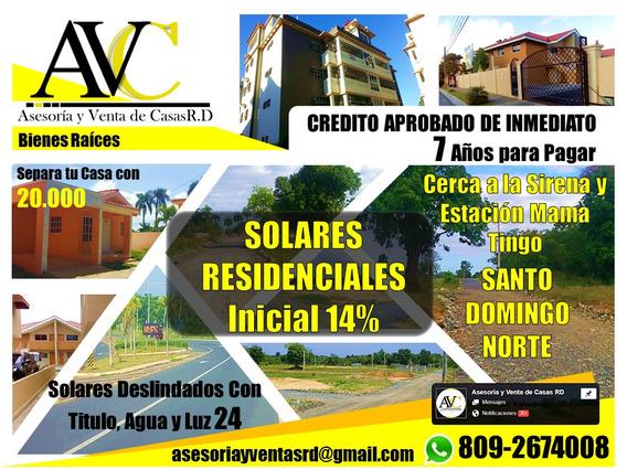 Los Mejores Solares De Santo Domingo